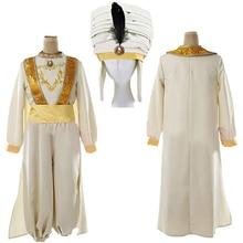 Костюм Принца Алладина, косплей, волшебная лампа, Хэллоуин, карнавал, костюмы для взрослых, аниме, вечерние, для сцены, костюм Адама
