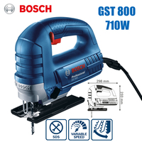 Bosch GST800 electric jig saw machine speed control home woodworking pull flower saw 710W electric saw power tool