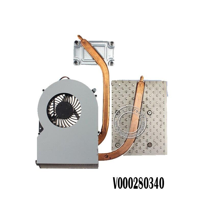 Nouveau radiateur et ventilateur de refroidissement d'origine pour Toshiba QOSMIO X870 X875 V000280340
