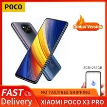 Poco x3 pro versão global 8gb + 256gb xiaomi smartphone snapdragon 860 120hz dotdisplay 5160mah 33w nfc carga quad câmera ai