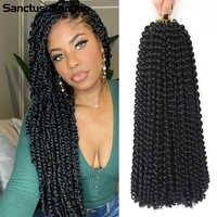 Extensiones de pelo trenzado sintético, Color marrón ombré, 1b, 27, 1b, 30 colores, Passion Twist, rizado Afro, ganchillo