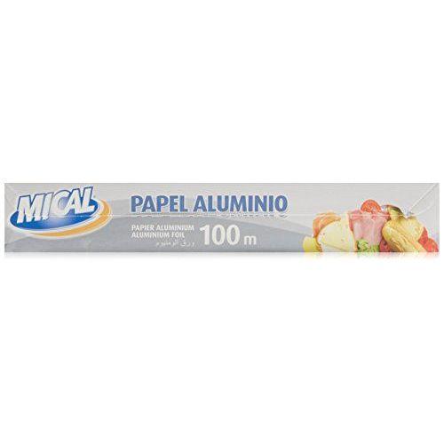Papel Mical Aluminio 100m 29cm