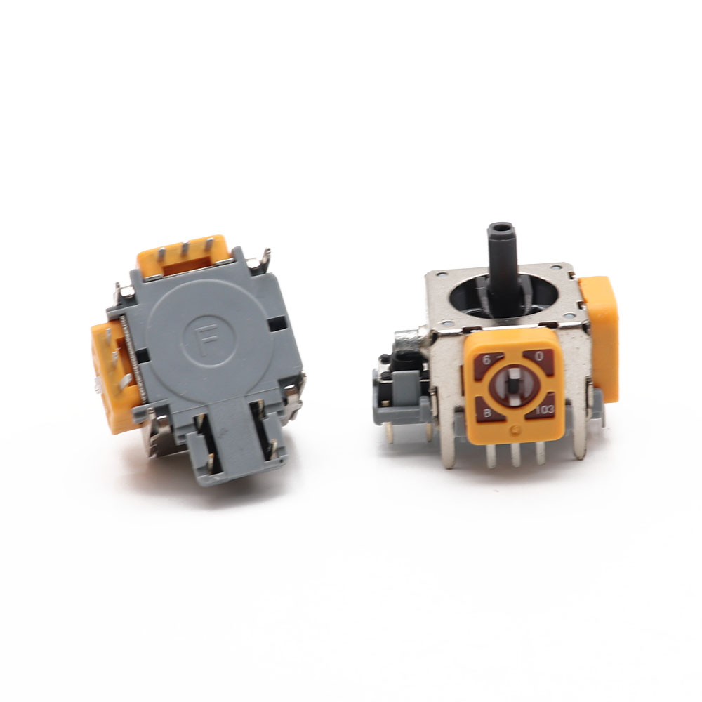 2PCS 3D Analog Joystick For XBOX 360 Controller Game Joystick Replacement Wireless Controller Analog Sensor Axis Accessories