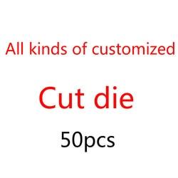 50pus заказной нож форма трафарет для DIY скрапбукинга альбом тиснение изготовление бумажных открыток Декор ремесла Die