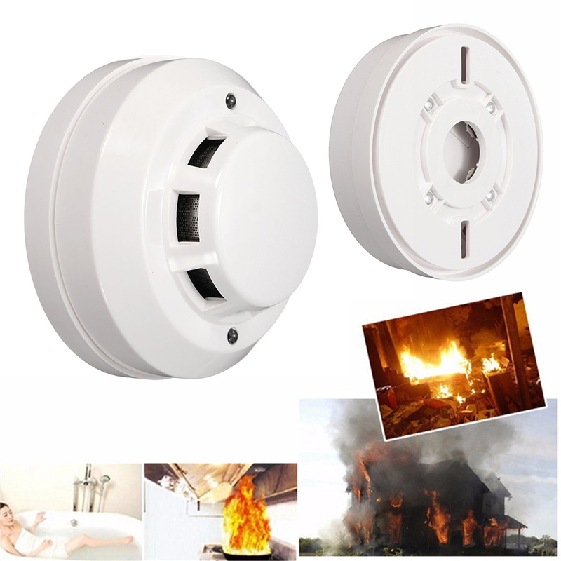Safety System Ceiling Wireless Smoke Fire Alarm Tester Smoke Detector Sensor