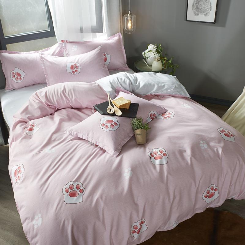 Pillowcase Home-Textile Bedding-Set Duvet-Cover Bed-Sheet Small Bedclothes-3/4pcs No