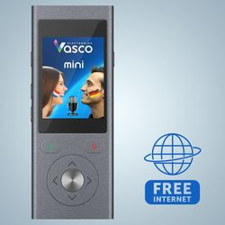 VASCO MINI2 Voice translator Built-in international SIM card with FREE INTERNET