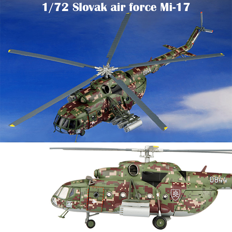 Fine  1/72  Slovak Air Force Mi-17 Helicopter  Digital Camo  Alloy Aircraft Model  Collection Model