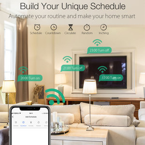 Image 3 - BlitzWolf 3680W 16A EU Plug WIFI Smart Socket Outlet Remote Control Timing Electricity Monitor Work with Alexa Google Assistant