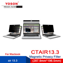 Computer Anti-Peep-Screen/peep-Protection-Film Magnetic YOSON Air-13.3