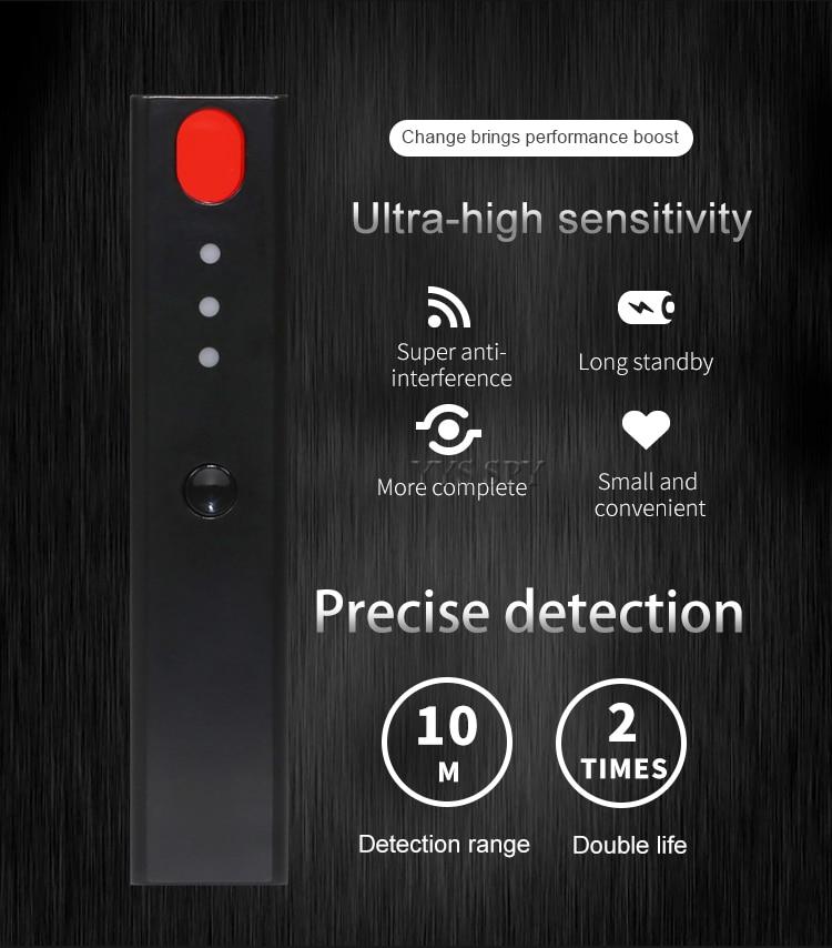 led infravermelho digitalização rf detecção de sinal