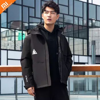 xiaomi mijia Aerogel two-in-one winter clothing technology cashmere warm and windproof rain down jacket detachable design