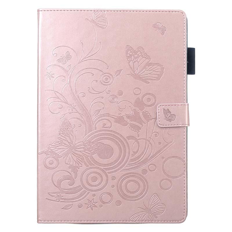 case Beige Stand Flip PU Leather Capa Case For iPad 10 2 Case 2019 A2200 A2198 A2197 A2232