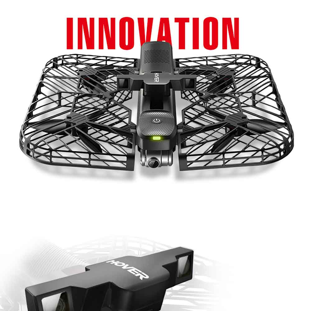 Hover Camera Passport Self Flying Drone 4k Video & 13MP Photography Auto Follow PK DJI Spark Mavic pro 2 Camera Drone