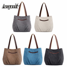 Aequeen Crossbody Bags for Women 2019 Canvas Tote Bag Women'