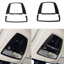 Для Bmw F10 F25 X3 F26 X4 5 серии 11 17 5GT F07 10 17 углеродное волокно автомобильная лампа для чтения наклейка декоративные наклейки аксессуары