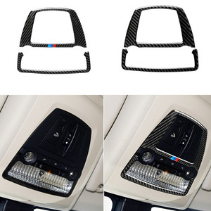 Image 1 - For Bmw F10 F25 X3 F26 X4 5 Series 11 17 5GT F07 10 17 Carbon Fiber Car Reading Light Cover Sticker Decorative Decal Accessories