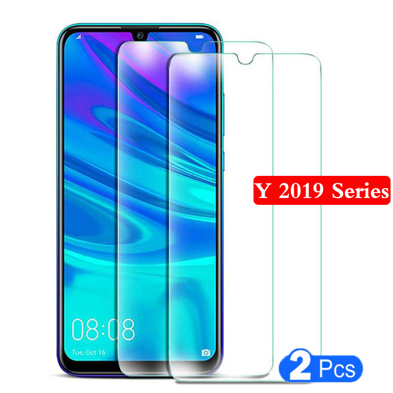 tempered glass phone case for huawei y9 y7 y6 <font><b>y5</b></font> <font><b>2019</b></font> Protective shell Accessories safety on <font><b>huawey</b></font> y 9 7 6 5 y92019 y72019 glas image