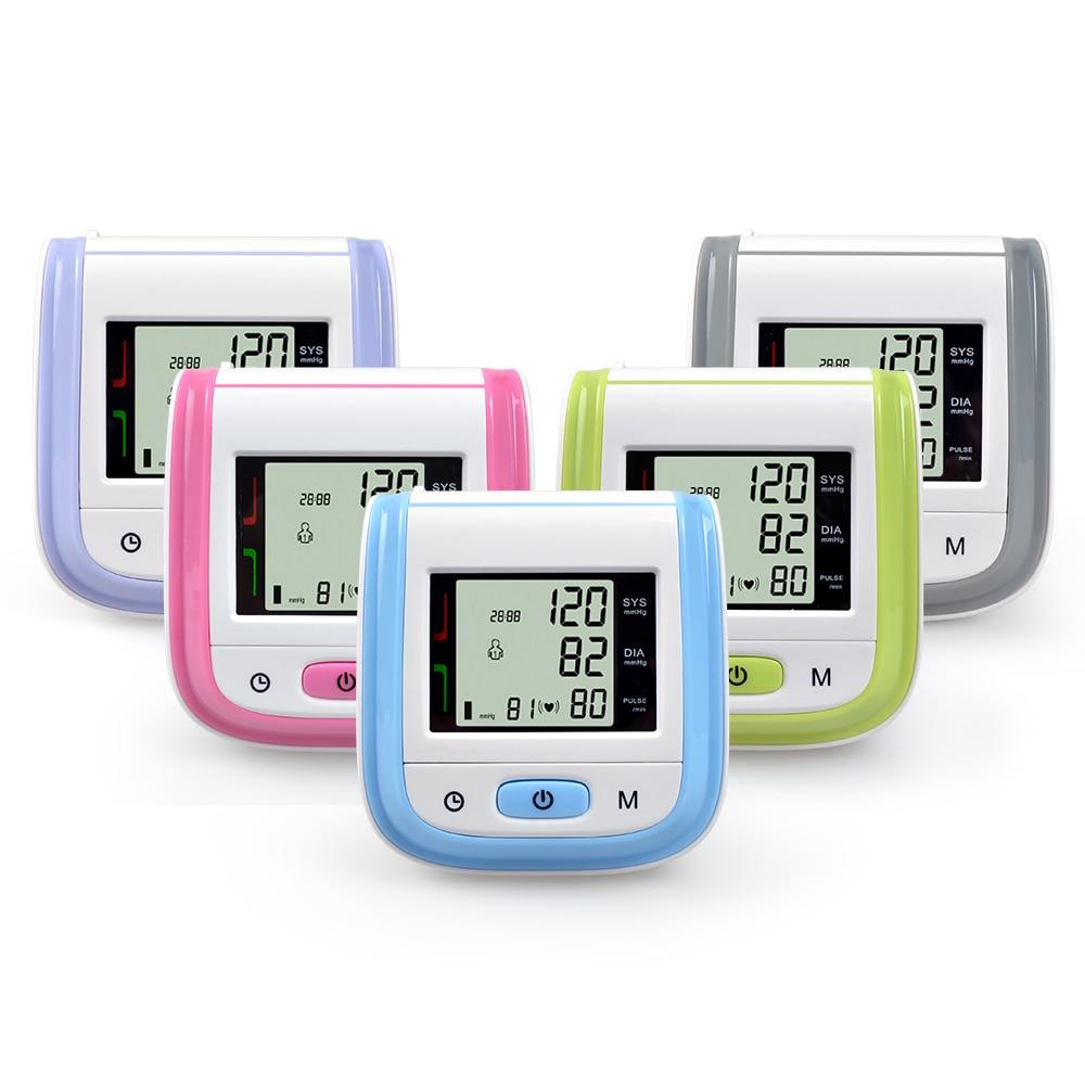 ELERA Digital LCD Wrist Blood Pressure Monitor Sphygmomanometer Automatic Blood Pressure Meter Tonometer For Measuring Pressure