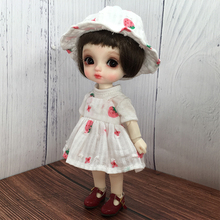 Slip Dress Clothes Set Doll Accessories for 1/6 BJD Dolls - No Doll 1 3 1 4 1 6 bjd dolls clothes fashion white dress for bjd dolls toy clothing dress doll accessories
