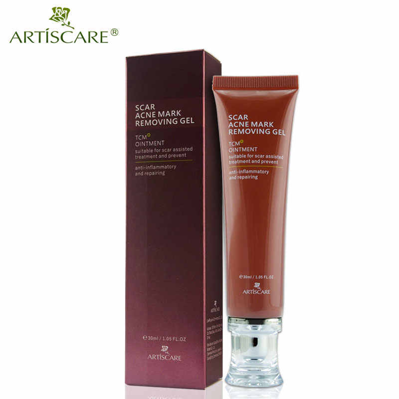 ARTISCARE Scar Acne Mark Removing Gel TCM Blackhead Treatment Whitening Skin Care Makes Repair Skin Soft Smooth Face Cream