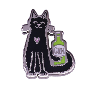 Londoners Once Drank Gin From A Cat's Mouth Londonist Pin image