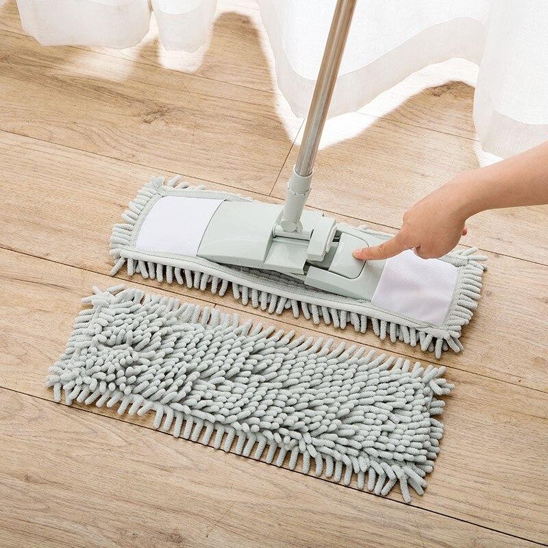 Mop Voor Wassen Vloer Wonderlife_aliexpress Squeeze Platte Magic Natte Luie Huis Schoonmaken Wringen Huishouden Thuis Keuken Gereedschap Chenille