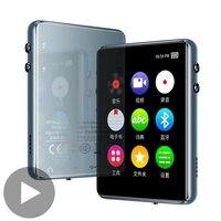 Reproductor Mp4 y Mp3 Mr Mp 3 4, con pantalla táctil, Bluetooth, Radio Fm, Txt, Audio portátil, Hifi, vídeo, altavoz