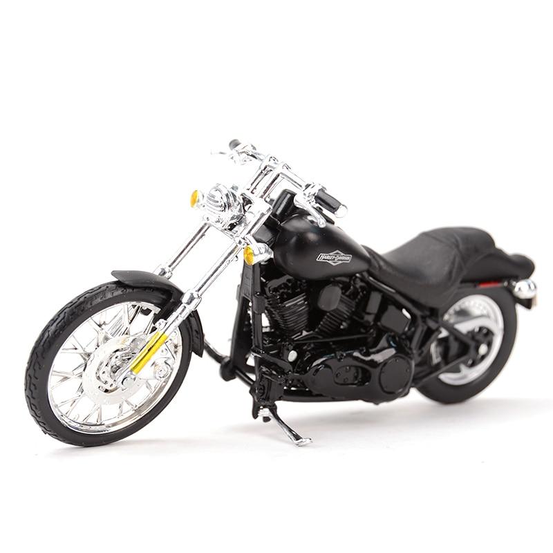Maisto 1:18 2008 FXSTB Night Train Diecast Alloy Motorcycle Model Toy