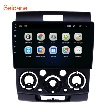 Seicane Car GPS Navigation Radio 9 inch Android 8.1 Stereo Unit for Ford Everest/Ranger 2006 2007 2008 - 2010 Multimedia Player image