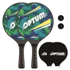 Image 1 - OPTUM 3K Углеродное волокно Профессиональный маткот весло для пляжного тенниса ракетка для игры про весло матка с чехлом