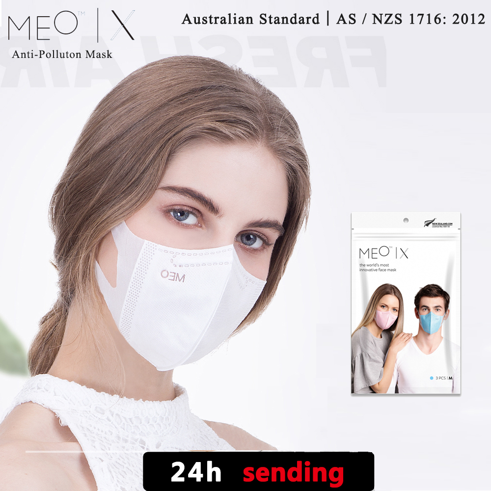 New Product Listing MEO X Fashion Mask Anti Haze Dust PM0.1 Breathable Filter  Lightweight And Comforta Made In New Zealand