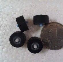 (50pcs) 13x6x2mm Card Seat Audio Belt Pulley Tape Recorder Belt Pulley Wheel