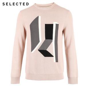 Image 5 - SELECTED 남성 모직 o 넥 컬러 스웨터 옷 긴팔 스웨터 니트 S
