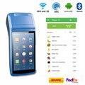 КПК на базе Android пос-терминал принтер 3g wifi Bluetooth NFC Встроенный термопринтер и считыватель штрих-кодов с зарядной док-станцией