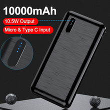 Affichage LED 10000mAh Powerbank chargeur Portable rapide batterie externe batterie d'alimentation pour iPhone Xiaomi Mi 9 iPhone USB Type C puissance
