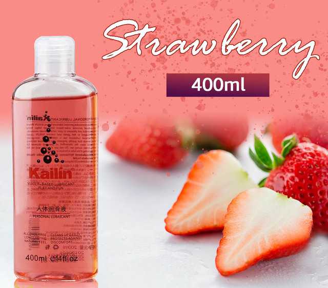 400ml fruit flavor lubricant anal grease for sex lube gel Oral Sex Oil strawberry Banana orange grape Massage Oil water based 2