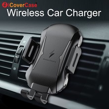 Car Wireless Charger For Samsung Galaxy Note 10 5G Note10 pro Note10+ plus Qi Fast Charging Pad Power Case Phone Holder Stand