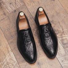 Men Casual Shoes Genuine leather Comfortable Chaussures Zapatos Hombre Flats Men Slip On Lazy Shoes *0717 Men Peas Shoes