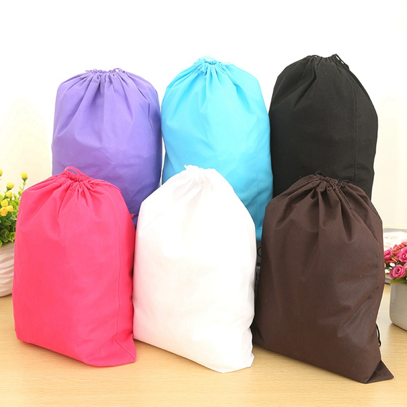 5PCS Large Capacity Drawstring Bag Housekeeping Storage Bags Travel Camping Pouch Organizer Waterproof Container Wash Packing