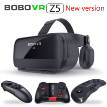 NEW Global Version BOBOVR Z5 Virtual Reality Headset VR Box 3D glasses Cardboard for Daydream smartphones Full package  GamePad