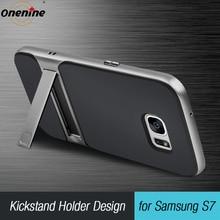 """ブランド新 3D サムスンギャラクシー S7 キックスタンドシリコーンカバー 5.1 """"TPU PC 360 フル保護 SamsungS7 galaxyS7 Funda"""