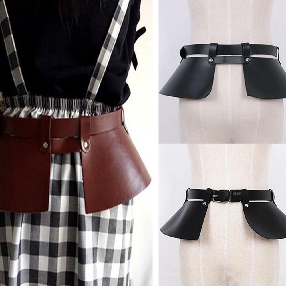 New Women Waistbands Vintage Leather Female Cummerbund Wide Belts Dress Decorate Cinto Sobretudo Feminin Ceinture Femme Fajas