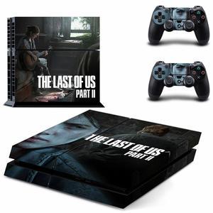 Image 5 - De Laatste Van Ons Deel 2 PS4 Stickers Play Station 4 Skin Sticker Decals Cover Voor Playstation 4 PS4 Console en Controller Skins
