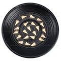 Латунные штамповочные бирки для изготовления ювелирных изделий, небольшие треугольные геометрические подвески, компонент для подвесок, оп...