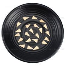 10-500 pces bronze carimbo tags para fazer jóias tamanho pequeno triângulo geométrico charme pingente componente em massa suprimentos por atacado