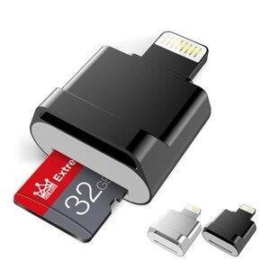 Mini Card reader OTG Usb Flash Drive 16GB/32GB/64GB/128GB For Iphone Ipad Tablet phone lightning Pen Drive Usb Stick