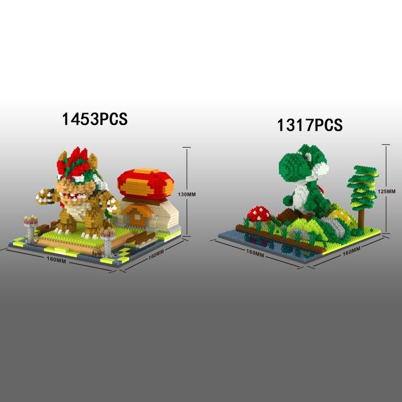 Classic Game Scenes Micro Diamond Block Super Mario Bros Building