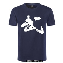 Men's T-Shirt Shaolin Kung-Fu Chinese-Calligraphy China Martial-Word Culture-Print New