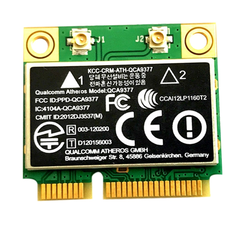 QCA9377 Dual Band AC WIFI Module WIFI Adapter Mini PCI E 2.4G/5G|Network Cards| |  - title=